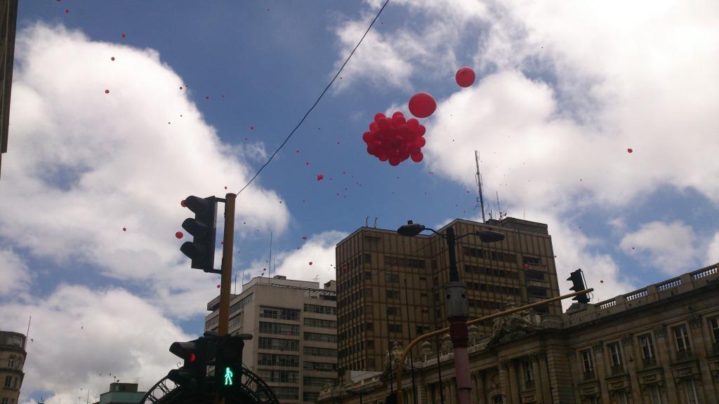 El cielo se pintó de rojo en este lanzamiento